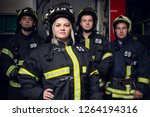 Photo Of Three Firemen Men And...