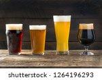 refreshing cold craft beer... | Shutterstock . vector #1264196293