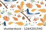 Blue Jay Sitting On A Branch O...
