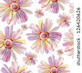 Classical Ditsy Floral Seamless ...