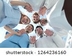 medical staff standing in a... | Shutterstock . vector #1264236160