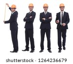 in full growth .competent... | Shutterstock . vector #1264236679