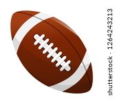 American Soccer Ball Vector