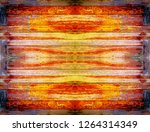 the wood planks of old window... | Shutterstock . vector #1264314349