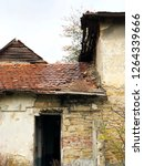 old house with tiles | Shutterstock . vector #1264339666