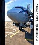 passenger aircraft photo | Shutterstock . vector #1264340050