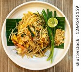 pad thai  most famous food in... | Shutterstock . vector #1264342159