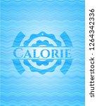 calorie water concept emblem. | Shutterstock .eps vector #1264342336