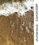 texture of sea foam | Shutterstock . vector #1264343089