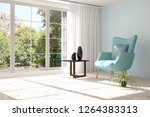 idea of white room with... | Shutterstock . vector #1264383313