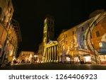 assisi  italy   december 21 ... | Shutterstock . vector #1264406923