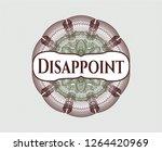 green and red passport money... | Shutterstock .eps vector #1264420969