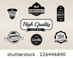 premium quality   guarantee... | Shutterstock .eps vector #126446840