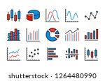 statistics and diagram color...   Shutterstock .eps vector #1264480990