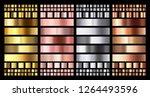 elegant metallic gradient.... | Shutterstock .eps vector #1264493596