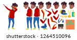 rap battle singer boy kid...   Shutterstock .eps vector #1264510096