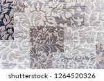 example of carpet in shades of... | Shutterstock . vector #1264520326