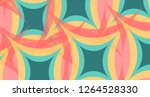 abstract colorful vector... | Shutterstock .eps vector #1264528330