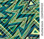music maze seamless pattern... | Shutterstock .eps vector #1264544410