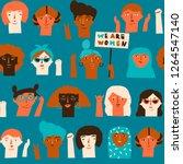 international women s day...   Shutterstock .eps vector #1264547140