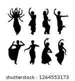 vector illustration of black... | Shutterstock .eps vector #1264553173