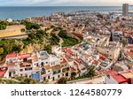 high angle view of santa cruz... | Shutterstock . vector #1264580779