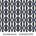 seamless retro pattern with... | Shutterstock .eps vector #1264602250