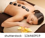 picture of woman in spa salon... | Shutterstock . vector #126460919