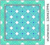 modern floral geometric pattern....   Shutterstock .eps vector #1264615996