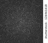 seamless background of black... | Shutterstock .eps vector #126461618