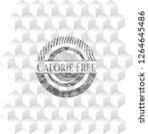 calorie free retro style grey... | Shutterstock .eps vector #1264645486