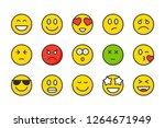 emoji color line icons....