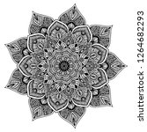mandalas for coloring  book.... | Shutterstock .eps vector #1264682293