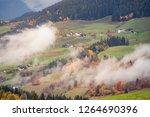 funes valley  dolomites alps....   Shutterstock . vector #1264690396