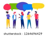vector illustration  flat style ... | Shutterstock .eps vector #1264696429
