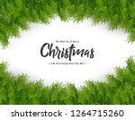 merry christmas background | Shutterstock .eps vector #1264715260