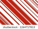 christmas candle  lollipop...   Shutterstock .eps vector #1264717813