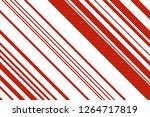 christmas candle  lollipop...   Shutterstock .eps vector #1264717819