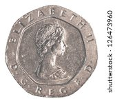 20 British Pennies Coin...
