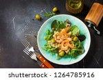 diet menu  vegan food. healthy... | Shutterstock . vector #1264785916