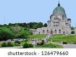 St. Joseph Oratory in Montreal, Canada - stock photo