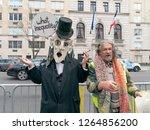 new york  ny   december 22 ...   Shutterstock . vector #1264856200