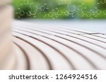 soft blur background with... | Shutterstock . vector #1264924516