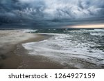 a stormy day at gulf islands... | Shutterstock . vector #1264927159