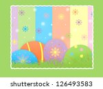 easter eggs | Shutterstock . vector #126493583