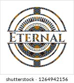 eternal arabic emblem... | Shutterstock .eps vector #1264942156
