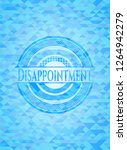 disappointment light blue... | Shutterstock .eps vector #1264942279