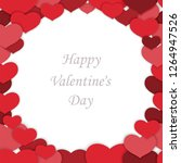 valentine s day seamless vector ... | Shutterstock .eps vector #1264947526