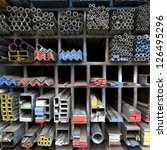 Steel Bar Components In A...