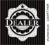dealer silvery shiny emblem | Shutterstock .eps vector #1264977409